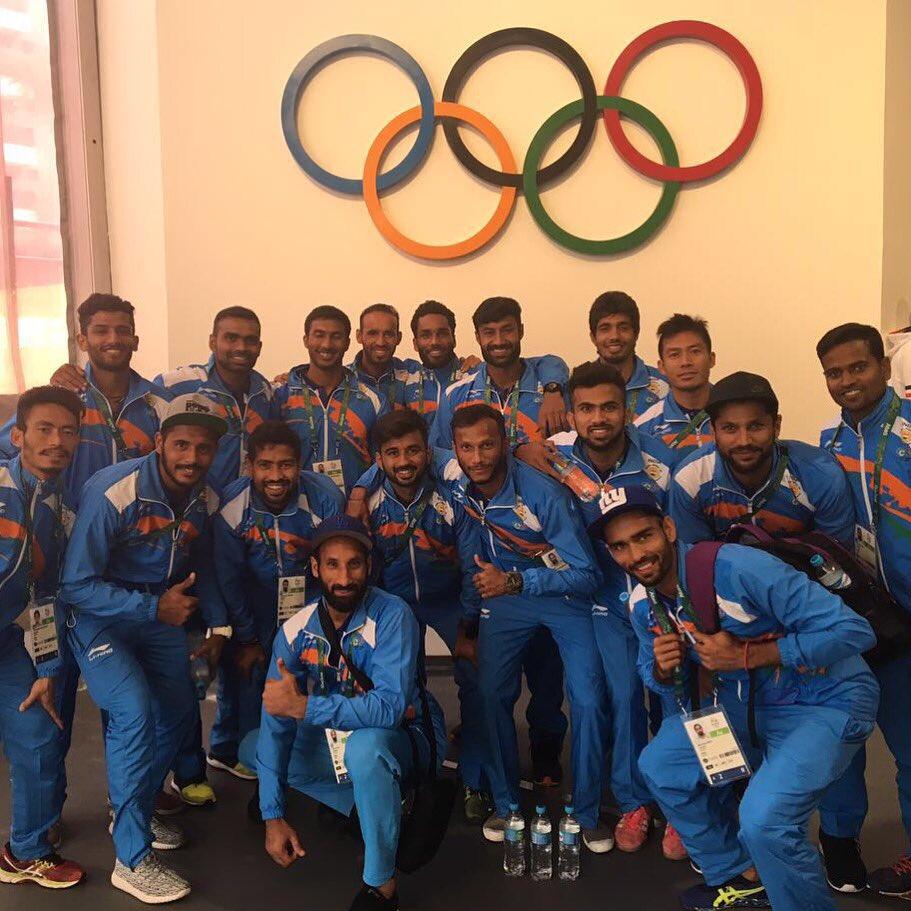 Indian Hockey Team, Sardar Singh,Olympic games Rio 2016,Sardara Singh, PR sreejesh, Sunil Sowmarpet Vitalacharya, Rupinder Pal Singh, Raghunath Vokkaliga, Akashdeep Singh, Danish Mujtaba, S.K. Uthappa, Chinglensana Singh Kangujam, Kothajit singh, Manpreet Singh, Ramandeep Singh, Devinder Sunil walmiki, Surender Kumar, Harmanpreet Singh and Nikkin Thimmaiah.